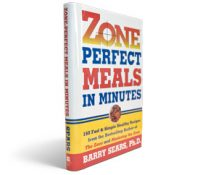 Zone Perfect Meals in Minutes - Book
