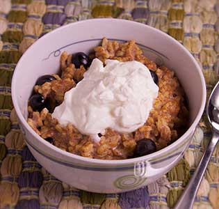 Almond Blueberry Orzo - Zone Diet Recipes