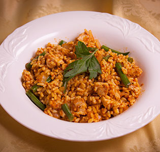 Arroz con Pollo - Zone Diet Recipes