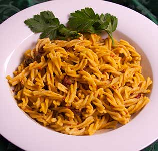 Fusilli in Chipolte Sauce