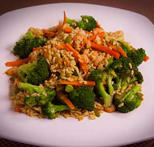 Orzo Oriental Style - Zone Diet Recipes