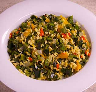 Pepper Orzo