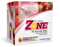 Dr. Sears' Zone Shakes - Strawberry - Box