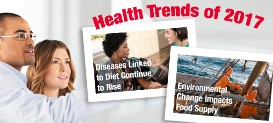 Health Trends of 2017, from Zone Diet
