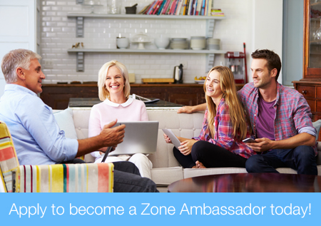 Apply to become a Zone Ambassador