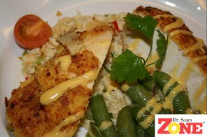Zone Gourmet Chicken and PastaRX Orzo