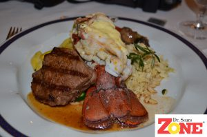 Zone Gourmet Surf and Turf with PastaRX Orzo