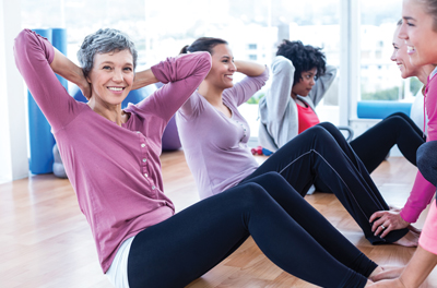 Routine Exercise Boosts Mood