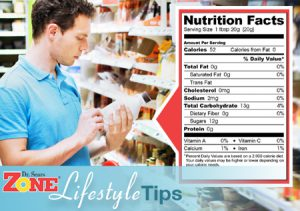 Zone Lifestyle: Nutrition Labels Facts