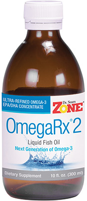 Zone OmegaRx 2 Fish Oil, 10oz liquid - get your omega-3s