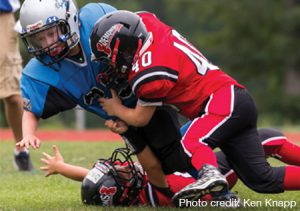 OmegaRx can help protect against brain injuries in young football players